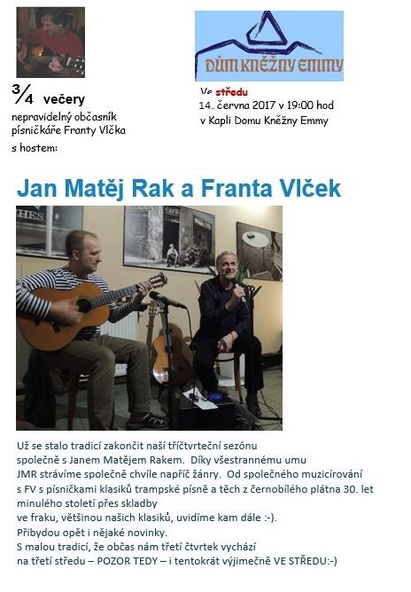 Franta Vlček a Jan - Matěj Rak Kaple Domu Kněžny EmmyNeratovice